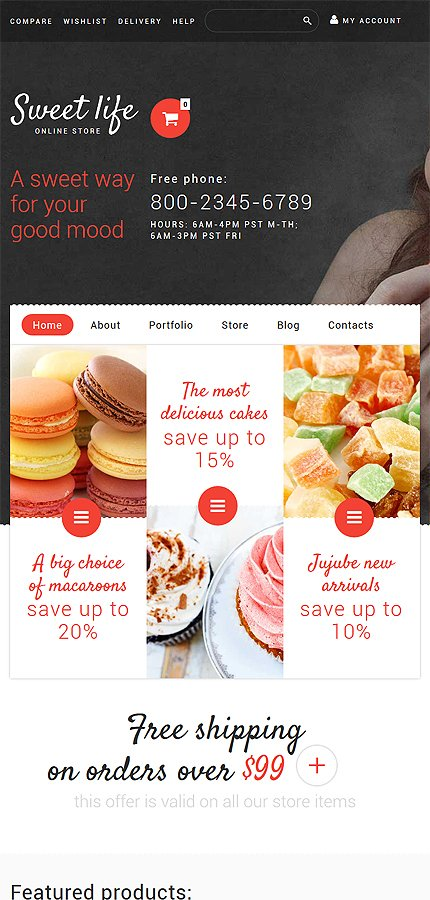 ADOBE Photoshop Template 53892 Home Page Screenshot