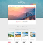 Travel Drupal  Template 53893