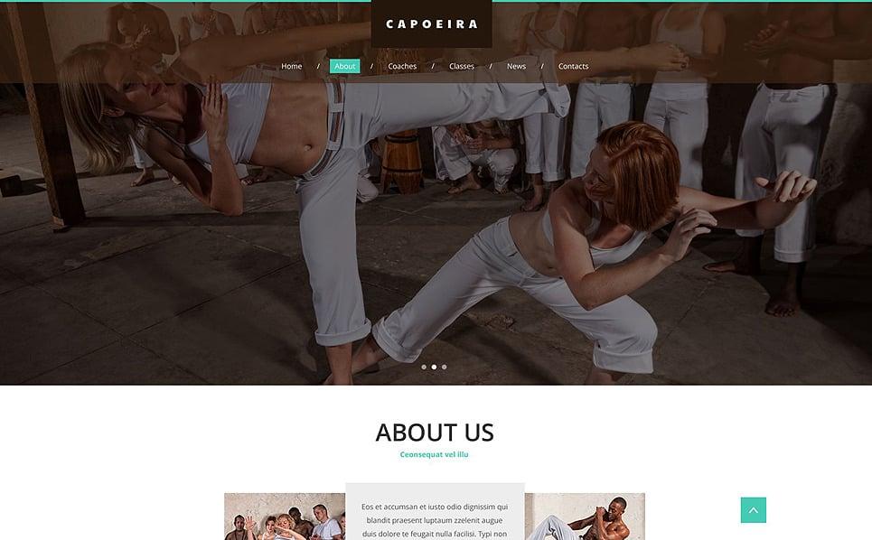 Modèle Web adaptatif  pour site d'arts martiaux  New Screenshots BIG