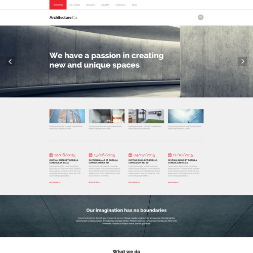 Architecture Co. - Responsive Drupal Architecture Template