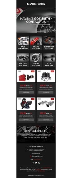 Cars Newsletter Templates