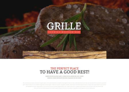 BBQ Restaurant Responsive
