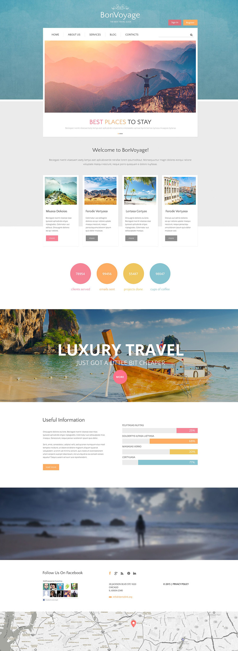 BonVoyage Drupal Template New Screenshots BIG