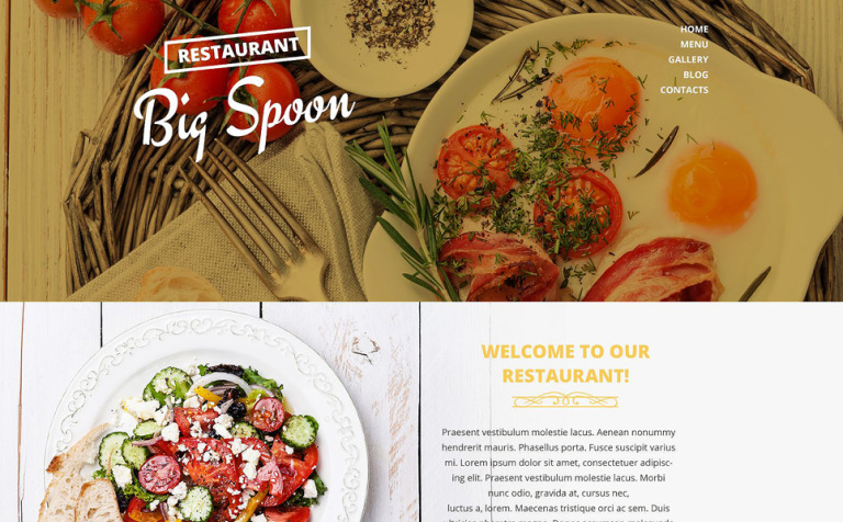 Catering Drupal Template