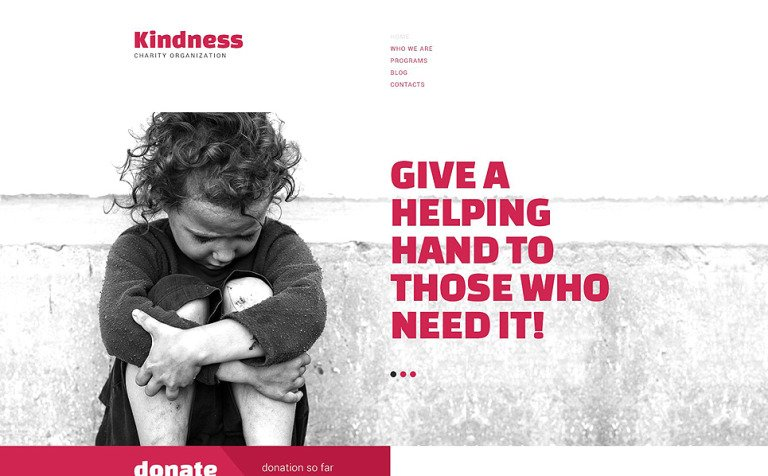 Charity Drupal Template
