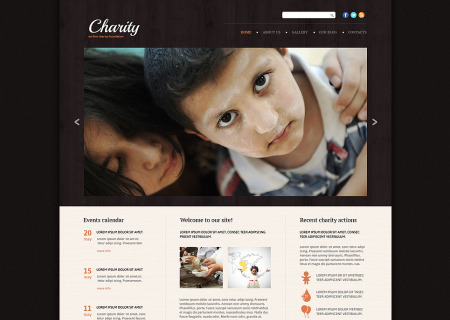 Charity Responsive