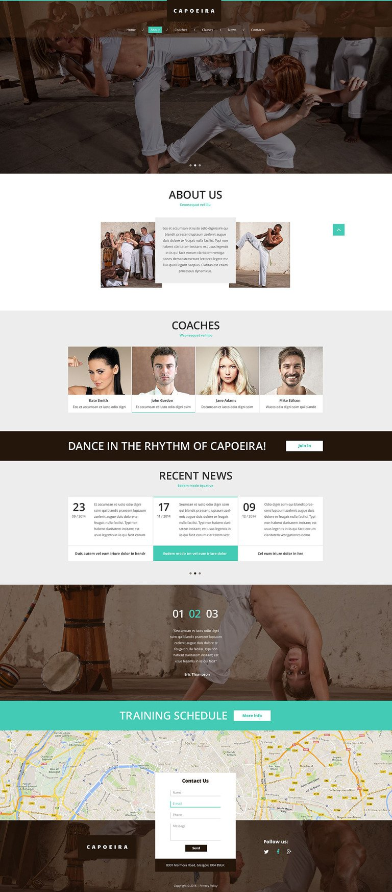 Design Your Sport Website Website Template New Screenshots BIG