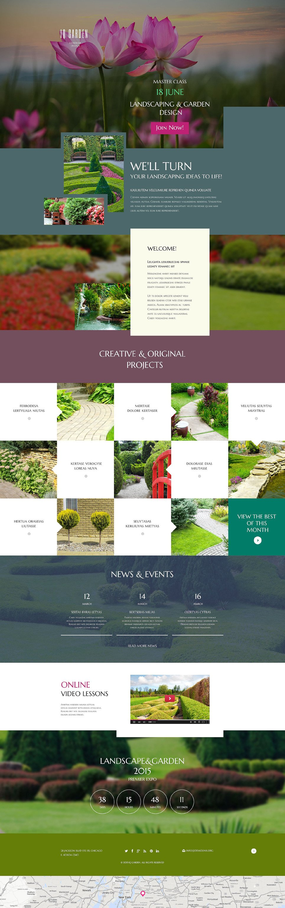 Exterior Design Responsive Landing Page Template New Screenshots BIG