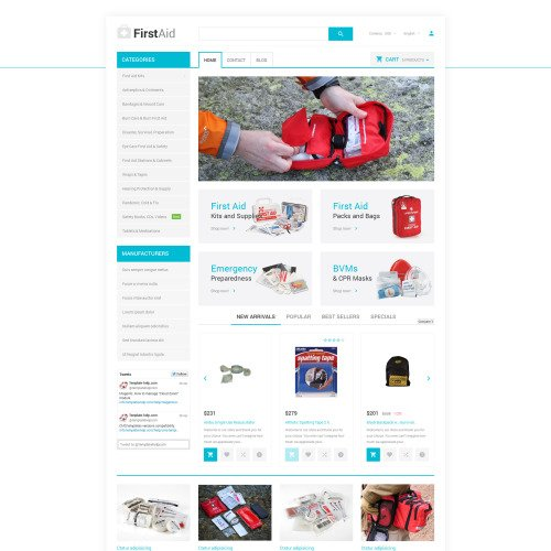 First-Aid - PrestaShop Template based on Bootstrap