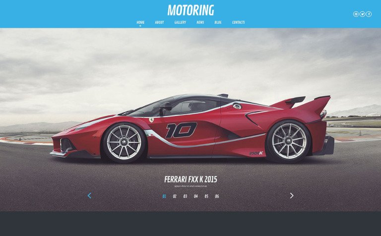 Motoring WordPress Theme