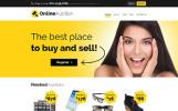 """""""Online Auction - Auction Responsive Clean HTML"""" modèle web adaptatif"""