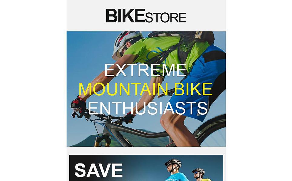 Plantilla De Boletín De Noticias Responsive para Sitio de Ciclismo New Screenshots BIG