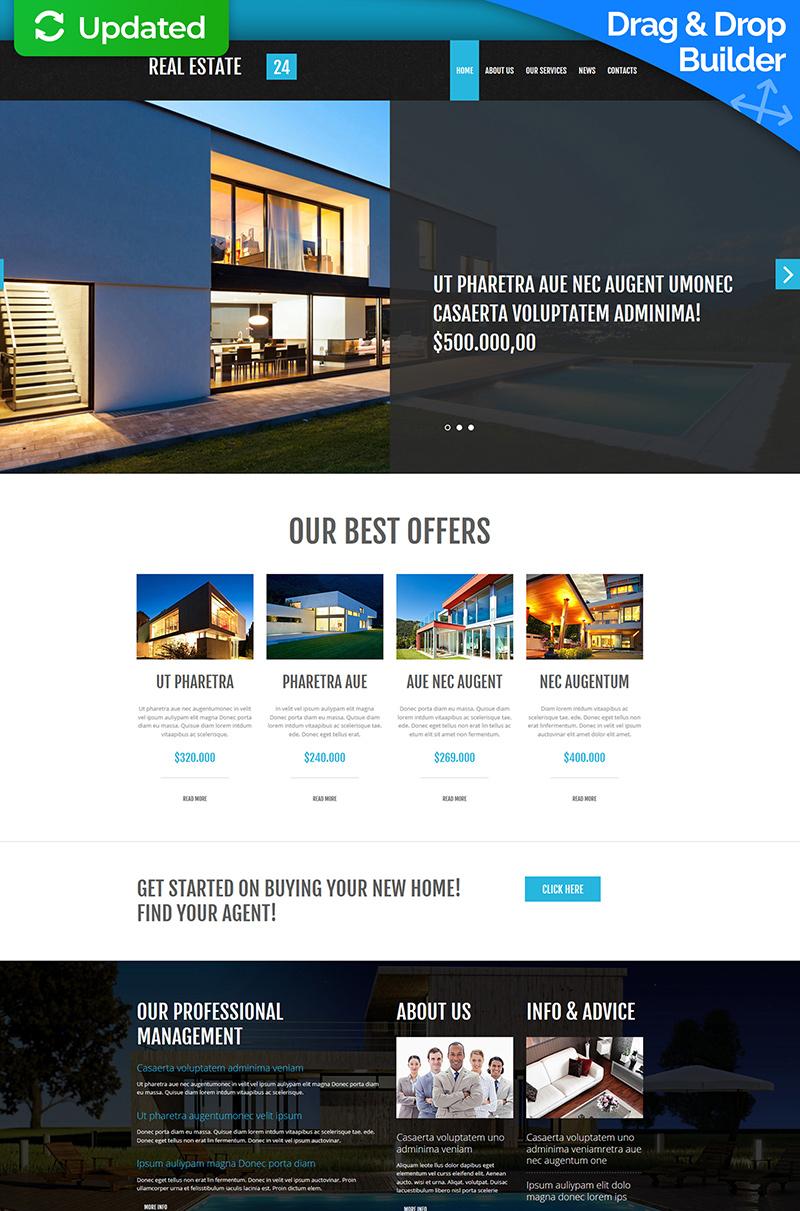 Real Estate Website Builder | TemplateMonster