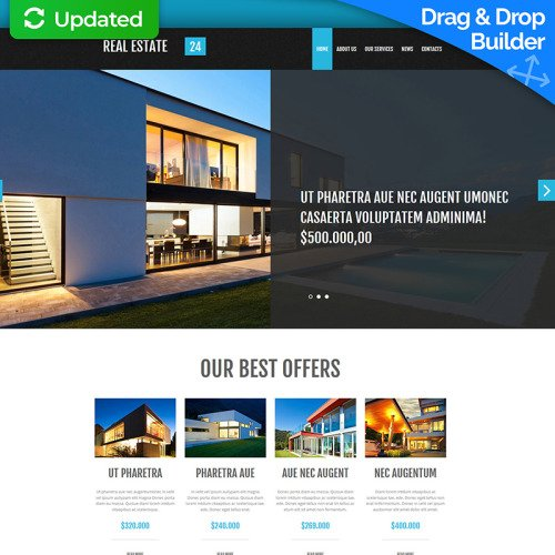 Real Estate  - Real Estate Agency Template