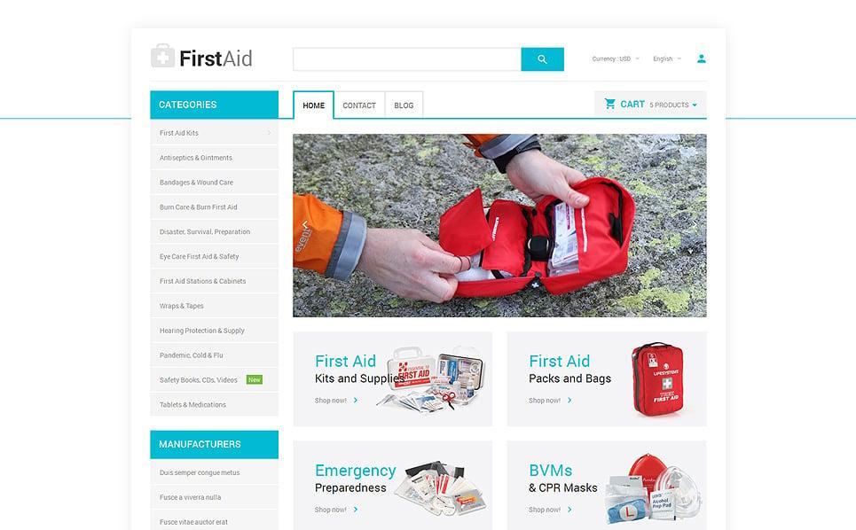 Responsives PrestaShop Theme für Ambulanz  New Screenshots BIG