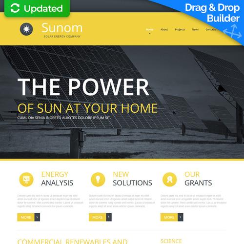 Sunom - MotoCMS 3 Template based on Bootstrap