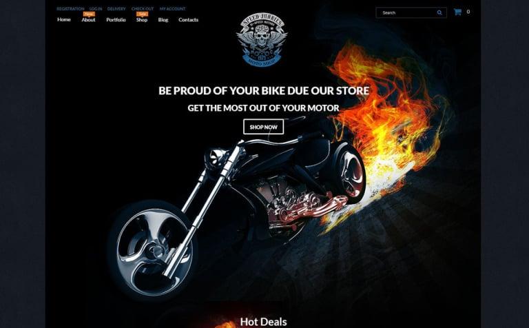 Speed Junkies WooCommerce Theme