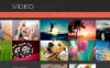 Tema de WordPress para Sitio de Galerías de vídeos New Screenshots BIG