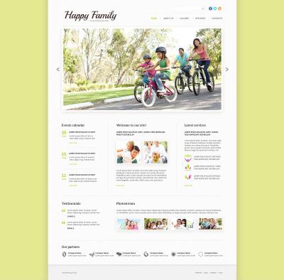 Family Responsive Template Siti Web