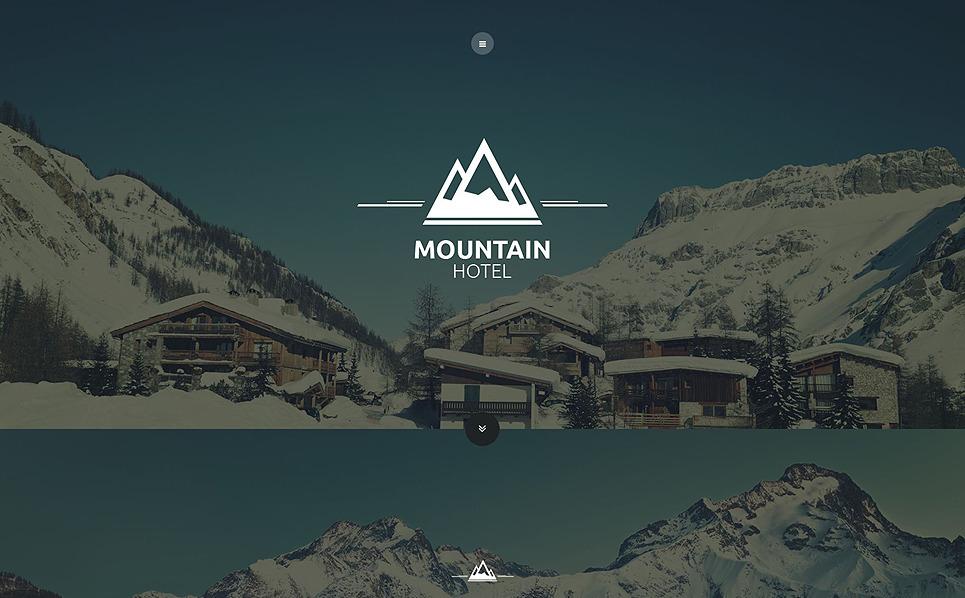 Template Web Flexível para Sites de Hotéis №53866 New Screenshots BIG