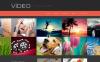 Thème WordPress adaptatif  pour site de galerie vidéo New Screenshots BIG