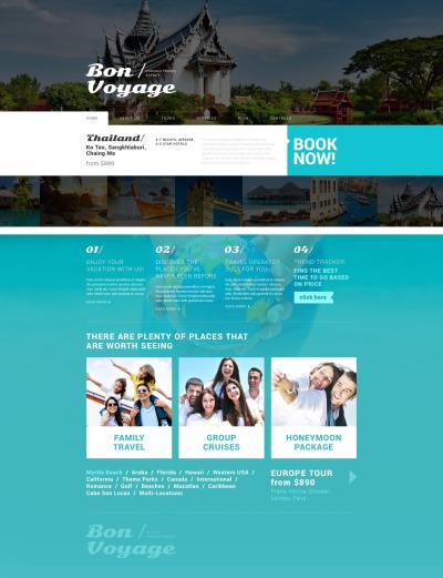 Travel Responsive WordPress Thema