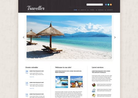 Travel Agency Responsive