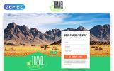 """""""Travel Guide - Travel Agency Clean HTML Bootstrap"""" modèle  de page d'atterrissage adaptatif"""