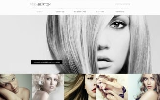 Vera Burton - Personal Pages Responsive HTML Elegant Website Template