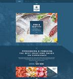 Food & Drink Website  Template 53900