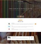 Education Website  Template 53902
