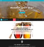 Food & Drink Website  Template 53903