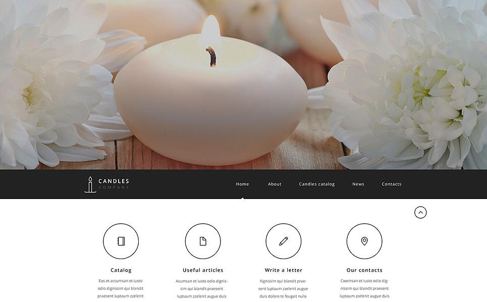 Reszponzív Iparművészet Weboldal sablon New Screenshots BIG