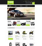 Cars VirtueMart  Template 53911