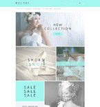 Wedding OpenCart  Template 53913