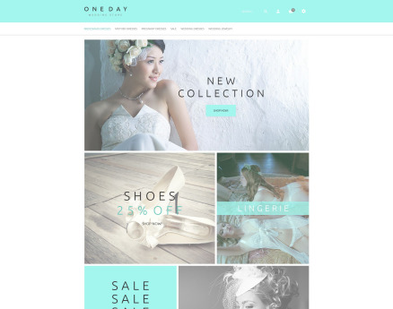 Bridal Shopping OpenCart Template