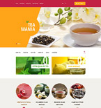 Food & Drink OpenCart  Template 53914
