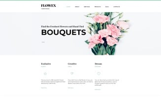 Flowex - Flower Shop Ready-to-Use Clean Joomla Template