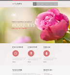 Flowers Joomla  Template 53916