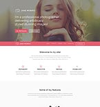 Art & Photography WordPress Template 53917