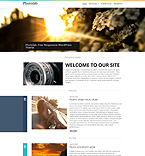 Art & Photography WordPress Template 53920