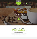 Cafe & Restaurant Shopify Template 53921