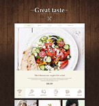 Cafe & Restaurant Muse  Template 53925