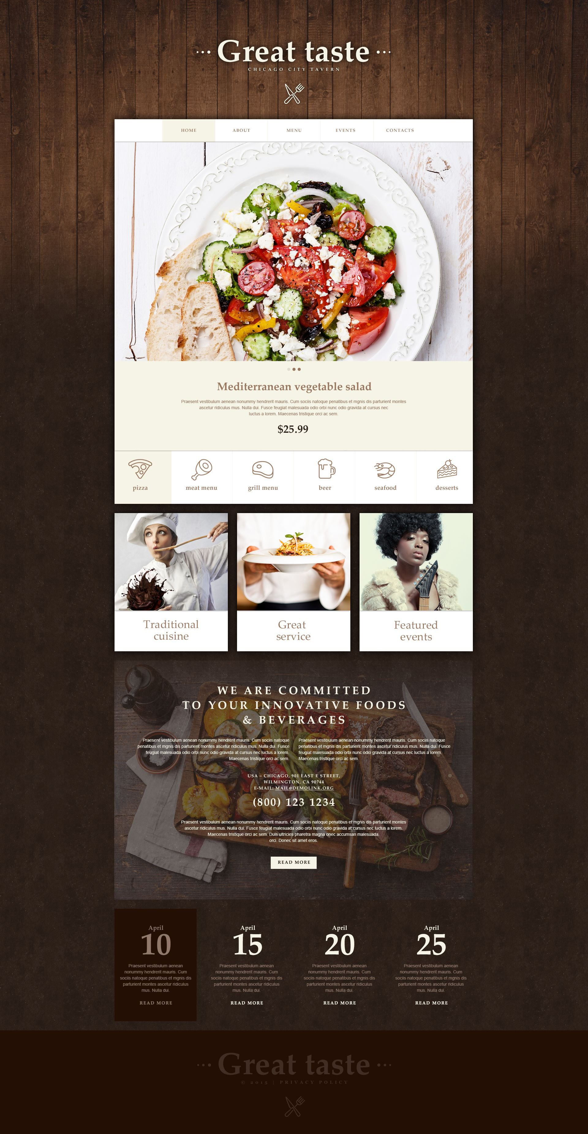 The Tavern Restaurant Muse Templates Design 53925, one of the best Muse templates of its kind (cafe and restaurant, most popular), also known as tavern restaurant Muse template, cafe Muse template, food Muse template, meal Muse template, cuisine Muse template, drink Muse template, menu Muse template, waiters Muse template, dish Muse template, wine Muse template, taste Muse template, tasty Muse template, flavor Muse template, reservation Muse template, specials Muse template, recipe Muse template, launch Muse template, dinner Muse template, testimonials Muse template, offers Muse template, kitchen Muse template, cookbook Muse template, vegetarian Muse template, cocktail Muse template, beverage Muse template, specials Muse template, gifts Muse template, bonuses Muse template, discount Muse template, patrons Muse template, reservation and related with tavern restaurant, cafe, food, meal, cuisine, drink, menu, waiters, dish, wine, taste, tasty, flavor, reservation, specials, recipe, launch, dinner, testimonials, offers, kitchen, cookbook, vegetarian, cocktail, beverage, specials, gifts, bonuses, discount, patrons, reservation, etc.