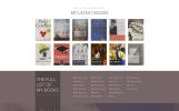 Plantilla Web para Sitio de Escritores/Autores