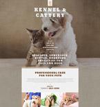 Animals & Pets Website  Template 53928