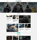 Games WordPress Template 53931