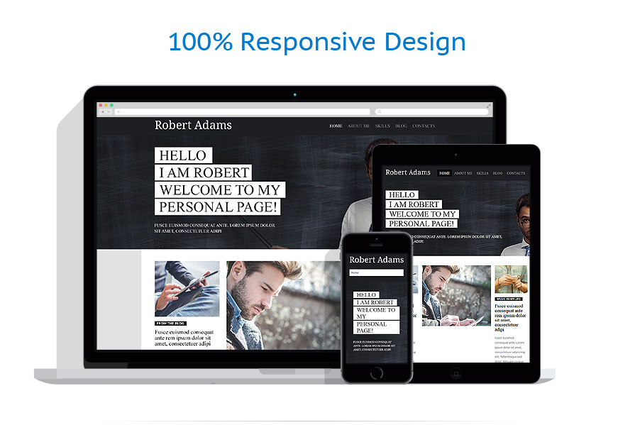 Thèmes WordPress Personal pages #53935