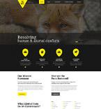 Animals & Pets Website  Template 53943