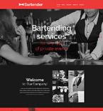 Cafe & Restaurant Website  Template 53944